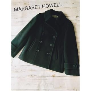 マーガレットハウエル(MARGARET HOWELL)のMARGARET HOWELL カシミヤ混Pコート(ピーコート)