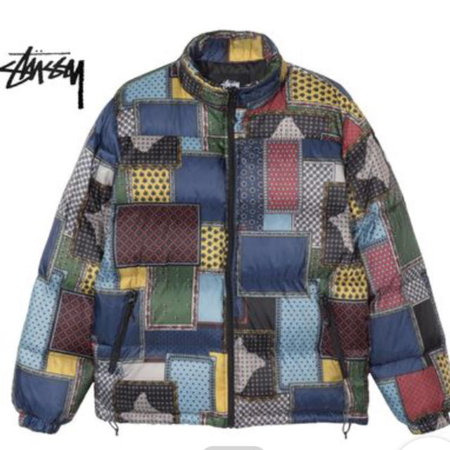 STUSSY(ステューシー)のstussy PUFFER JACKET ステューシーLサイズ メンズのジャケット/アウター(ダウンジャケット)の商品写真