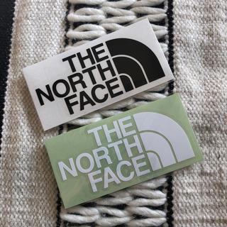 ザノースフェイス(THE NORTH FACE)の新品 THE NORTH FACE ノースフェイス  ステッカー 2枚セット(ステッカー)