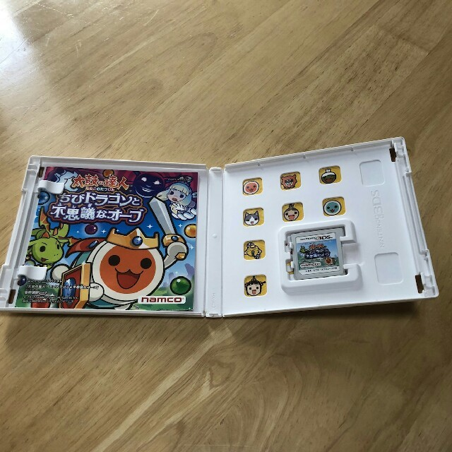 ニンテンドー3DS(ニンテンドー3DS)の任天堂3DS太鼓の達人 エンタメ/ホビーのゲームソフト/ゲーム機本体(家庭用ゲームソフト)の商品写真