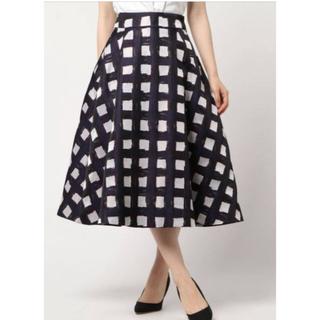 DOUBLE STANDARD CLOTHING - ダブルスタンダードクロージング ブロックチェックスカート