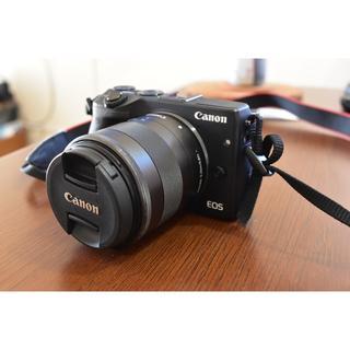 Canon - キャノン Canon EOS M3 EF-M 18-55 STM ボディ、レンズ