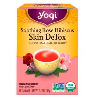 ルピシア(LUPICIA)のヨギティー  yogi 美肌 デトックス ハーブティー(健康茶)