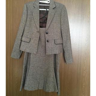 ローラアシュレイ(LAURA ASHLEY)のローラアシュレイ  13号 ツイードセットアップスーツ(スーツ)