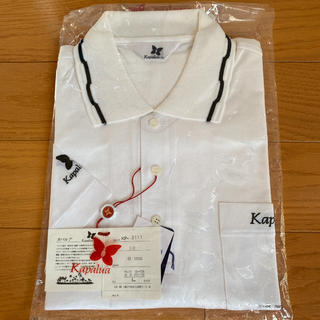 カパルア(KAPALUA)の新品未使用★カパルア 白の半袖ポロシャツ(ポロシャツ)