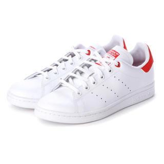アディダス(adidas)の未使用 adidas STANSMITH スタンスミス ハート レッド 22.5(スニーカー)