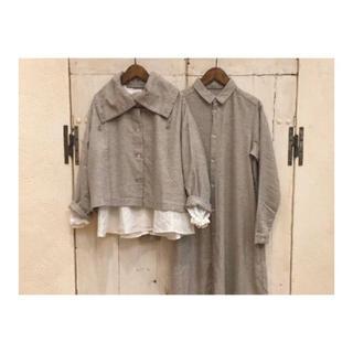 ネストローブ(nest Robe)のnest Robe yaku × cotton アウター(カーディガン)