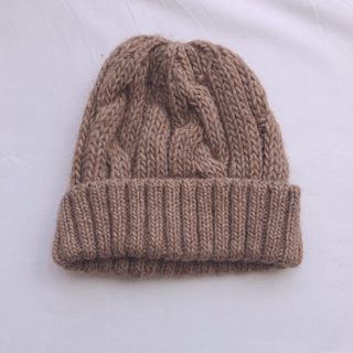 CA4LA - CA4LA  ニット帽(ブラウン)