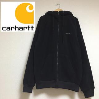 カーハート(carhartt)のカーハート carhartt ボア パーカー レディース ブラック 黒 厚手(ブルゾン)