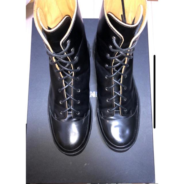 Jil Sander(ジルサンダー)のJIL SANDER レースアップブーツ 19aw IT45 メンズの靴/シューズ(ブーツ)の商品写真
