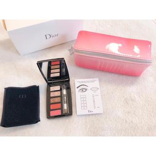 Dior - Dior ミニメイクアップパレット ポーチ