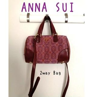 アナスイ(ANNA SUI)のANNA SUI 2wayバッグ 〜コンパクトなのに大容量〜(ショルダーバッグ)