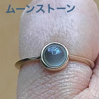 新品 ムーンストーンリング(リング(指輪))