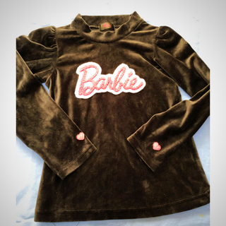 バービー(Barbie)のバービーベロア地ロゴトップス(その他)