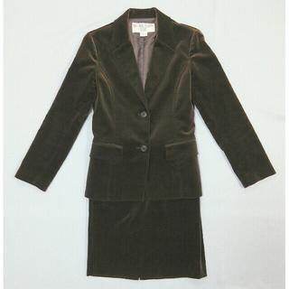 ナチュラルビューティーベーシック(NATURAL BEAUTY BASIC)の美品 Natural Beauty Basic スーツ  ダークブラウン(スーツ)