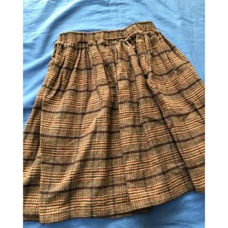 美品マーキーズチェック柄スカート