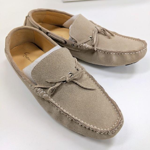〈未使用〉ドライビングシューズ デッキシューズ ベージュ メンズの靴/シューズ(デッキシューズ)の商品写真