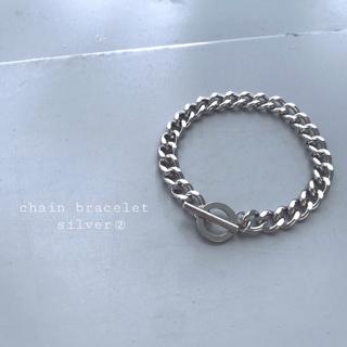 TOGA - 再入荷 chain bracelet  silver ②
