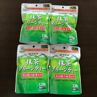 伊藤園 - 抹茶グリーンティー 120g 4袋 伊藤園 加糖タイプ 抹茶