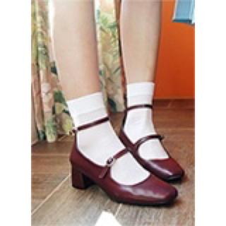 ディーホリック(dholic)のダブルストラップメリージェーンシューズ(ローファー/革靴)