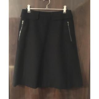 デプレ(DES PRES)のカシミア混ウール スカート(ひざ丈スカート)