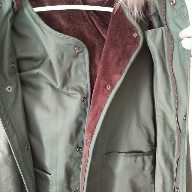 RAGEBLUE(レイジブルー)のお値下げしました!RAGEBLUE メンズ ミリタリージャケット 内側ベスト付き メンズのジャケット/アウター(ミリタリージャケット)の商品写真