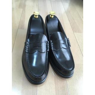 リーガル(REGAL)のリーガルのコインローファー  黒 25EE(ドレス/ビジネス)