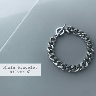 TOGA - 再入荷 chain bracelet silver ➂
