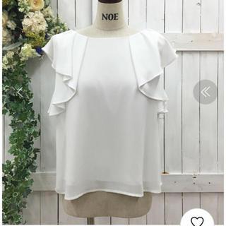 ノエラ(Noela)のノエラ  袖フリルブラウス(シャツ/ブラウス(半袖/袖なし))