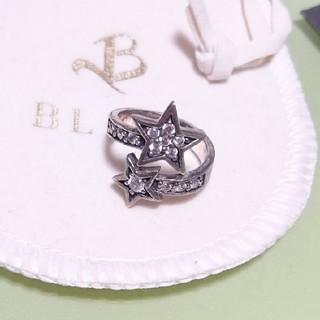 ブレス(BLESS)のBLESS シルバーリング スター(リング(指輪))