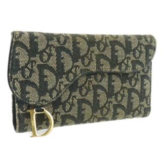 クリスチャンディオール(Christian Dior)の三つ折り財布 中古 トロッター柄 Christian Dior(未使用)(財布)