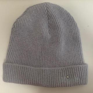 パサージュミニョン(passage mignon)のpassage mignon ニット帽 (ニット帽/ビーニー)