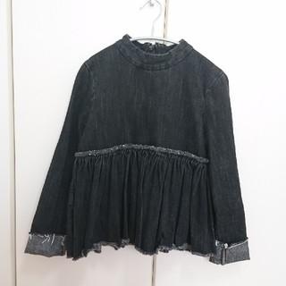 Demi-Luxe BEAMS - ♡BEAMS WAVENブラックデニムブラウス♡