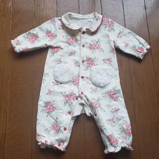 Nishiki Baby - ニシキ 花柄ロンパース 70センチ