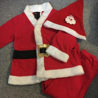 エイチアンドエム(H&M)のH&M サンタ コスチューム クリスマス おまけ付(キャラクターグッズ)