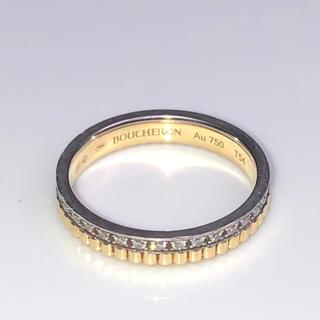 ブシュロン ダイヤモンドリング 美品 本物 正規品(リング(指輪))