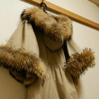 ルシェルブルー(LE CIEL BLEU)の袖が可愛い★ルシェルブルー モッズコート(モッズコート)