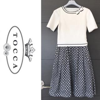トッカ(TOCCA)のTOOCA ドッキングワンピース(ひざ丈ワンピース)
