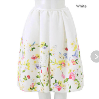 Chesty - チェスティ バードフラワー スカート