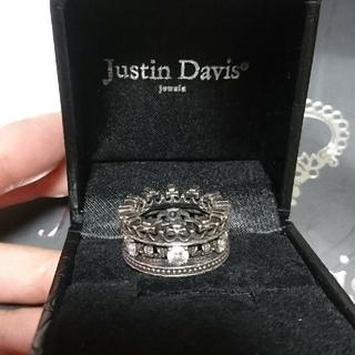 ジャスティンデイビス(Justin Davis)のJustinDavis  GALIANA ring シルバーリング(リング(指輪))