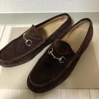 Gucci - GUCCI スウェード短靴