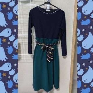 オリーブデオリーブ(OLIVEdesOLIVE)の授乳服 ワンピース OLIVE des OLIVE(ひざ丈ワンピース)
