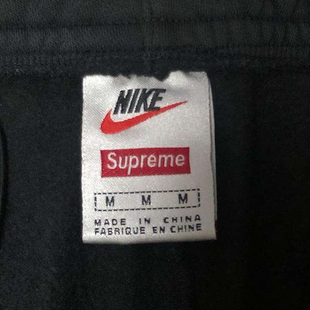 Supreme(シュプリーム)のSupreme/Nike Sweatpant Black M メンズのパンツ(その他)の商品写真