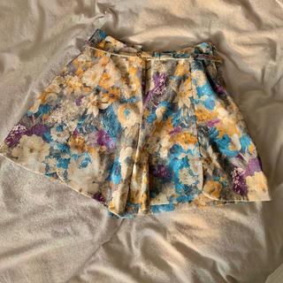 クチュールブローチ(Couture Brooch)の期間限定値下🌟couture brooch 花柄ショートパンツ(ショートパンツ)