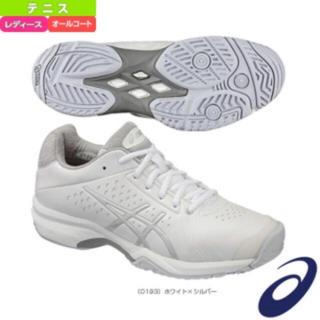 アシックス(asics)の新品♡アシックステニスシューズ22.5(シューズ)