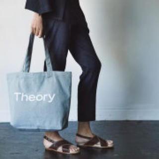 セオリー(theory)の【Theory】未使用タグ付 デニム地 トートバッグ(ショルダーバッグ)