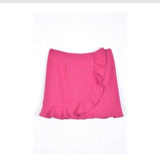 デイシー(deicy)のピンク フリルスカート(ミニスカート)