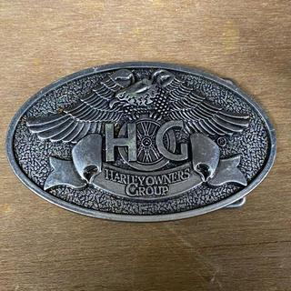 ハーレーダビッドソン(Harley Davidson)のハーレーオーナーズクラブのバックル(ベルト)