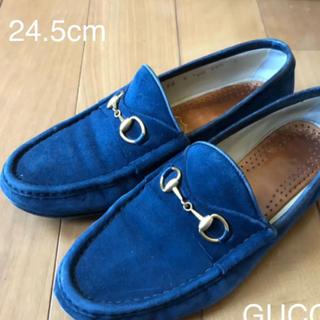 Gucci - GUCCIホースビッドローファー