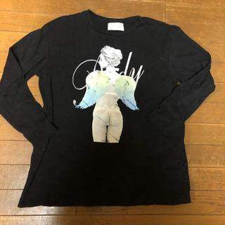 レディー(Rady)のRady ロンT 黒(Tシャツ(長袖/七分))